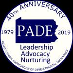 PADE 40th Anniversary Logo